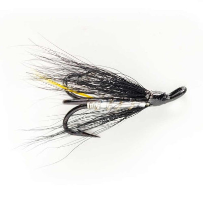 Dry fly Baetis SILVER STOAT 08