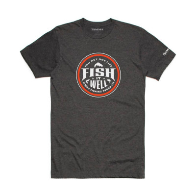 T-shirt Simms Fish it well...