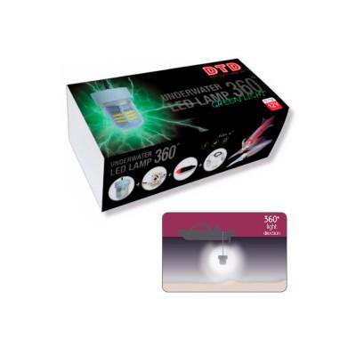 UNDERWATER LED LAMP 360º Verde