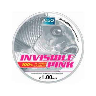 HILO ASSO INVISIBLE PINK 30 M