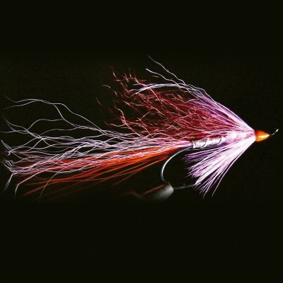 FLY FISHING SALMON PINK...