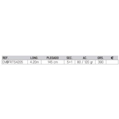 Caña VERCELLI OXYGEN FORMULA TS 4.20m 5s