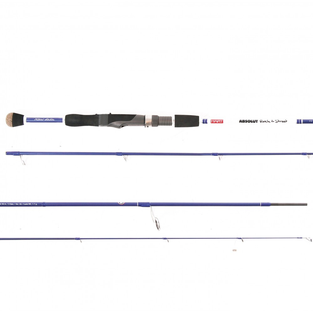 HART ABSOLUT ROCK & STREET 71UL - 7´1´´-2. 16m/sec 2 - ACT.UL - Lure WT 1-7g