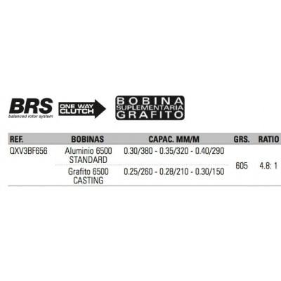 Carrete VIRUX V3BF 6500 5+1