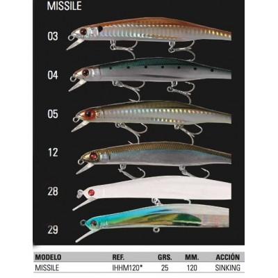 HART míssil de peixe 12cm