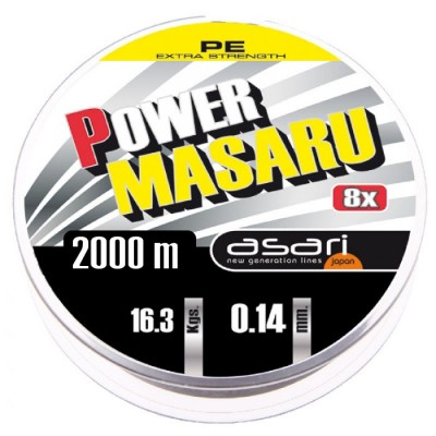 B/2000m Asari MASARU POWER PE 0.20mm