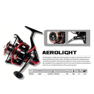 REEL HART AEROLIGHT F.Fr.30 - 7+1bb
