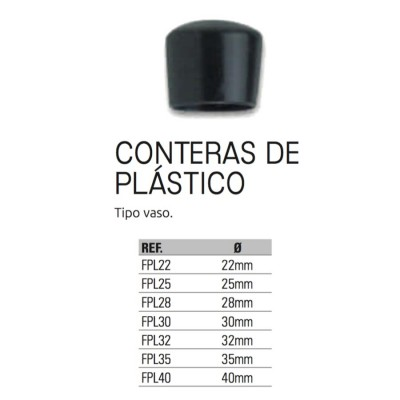 CONTERA  DE PLASTICO