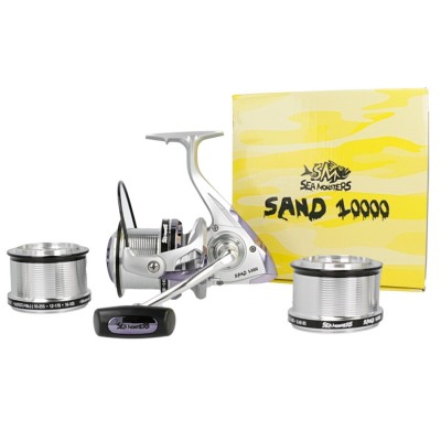 CARRETE SEA MONSTERS SAND 10000