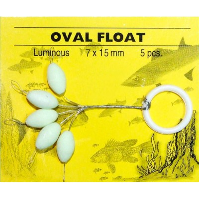 OVAL FLOAT 7X15 LUMINOUS GRAUVELL
