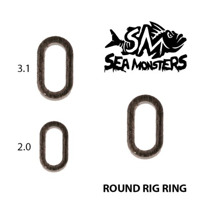 MICRO RINGS SEA MONSTERS ROUND RING