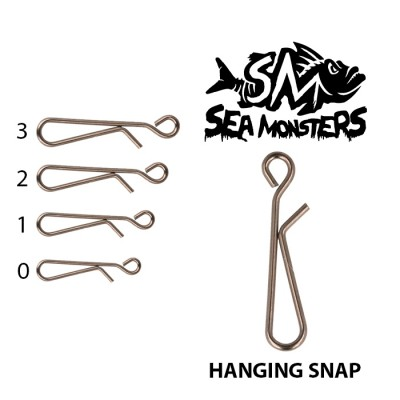 AGRAFE SEA MONSTERS HANGING SNAP