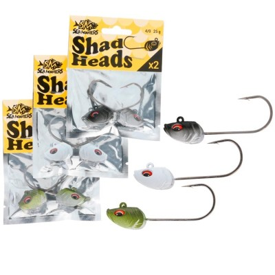 SEA MONSTERS SHAD HEADS 2 Ud.