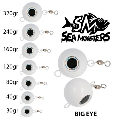 BIG EYE SEA MONSTERS  30 gr.