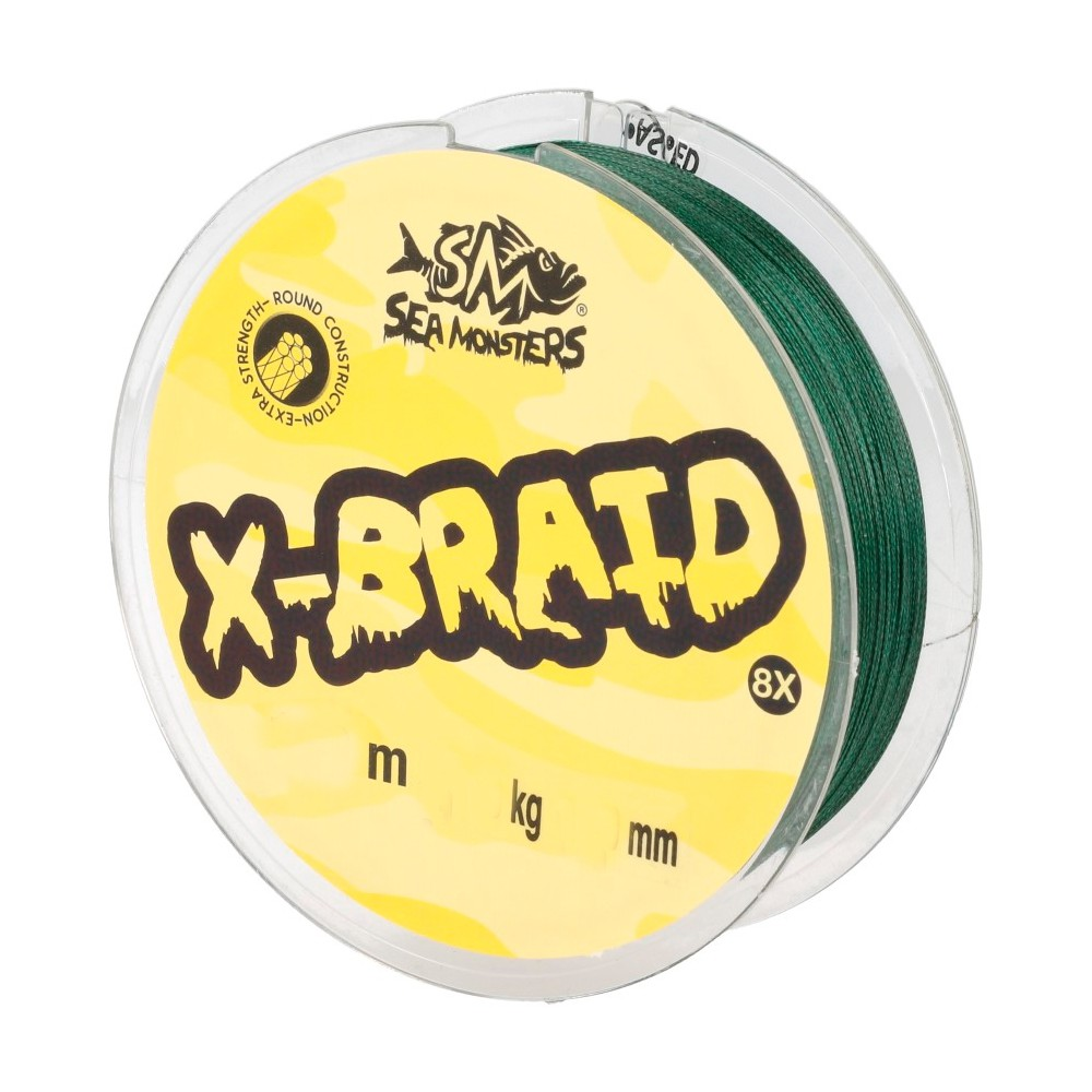 SEA MONSTERS X-BRAID 8X
