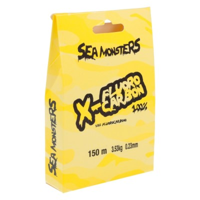 SEA MONSTERS X-LINE FLUOROCARBONO