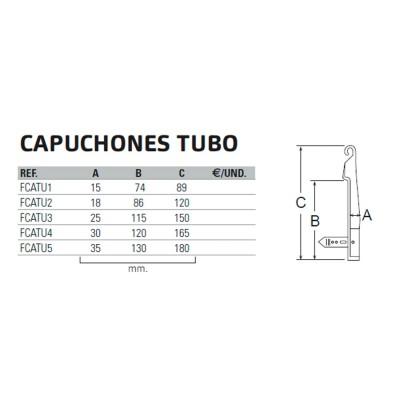 CAPUCHONES TUBO
