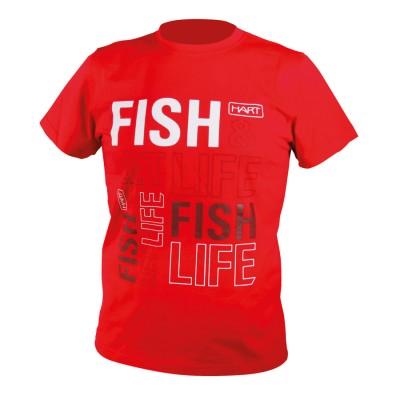 Camiseta PRO HART c.Red - Talla L