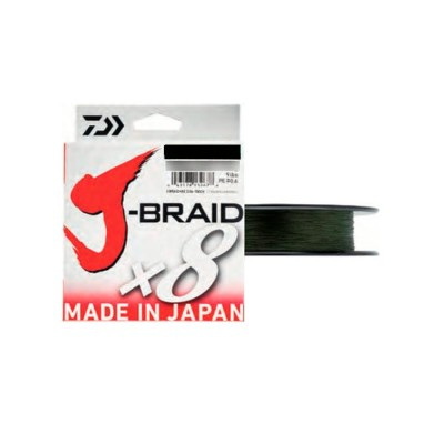 TRESSE JBRAID 8B 500M 20/100 VERDE