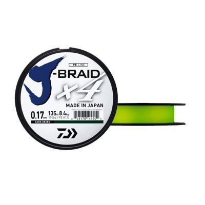 TRENZADO JBRAID 4B 135M 07/100J