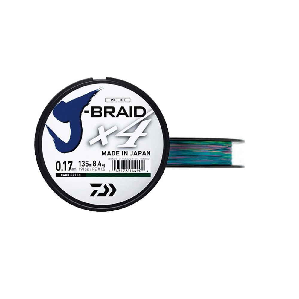 TRENZADO JBRAID 4B 300M 10/100M