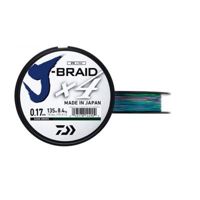TRENZADO JBRAID 4B 500M 17/100M