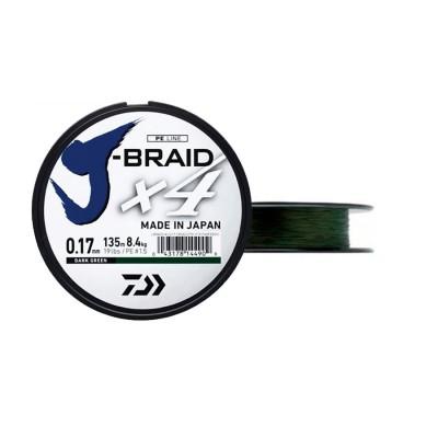 TRENZADO JBRAID 4B 1350M 19/100V