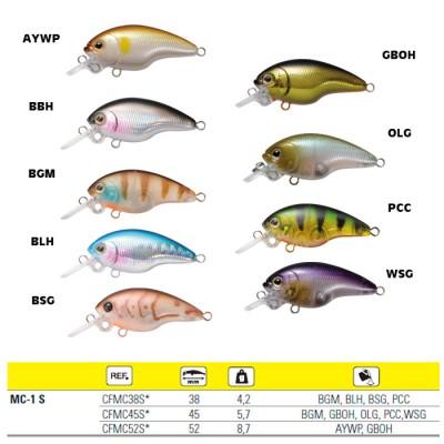FISH MC-1 S38F - COLOR BGM