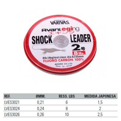 VARIVAS AVANI EGING SHOCK LEADER FLUOROCARBON 30m