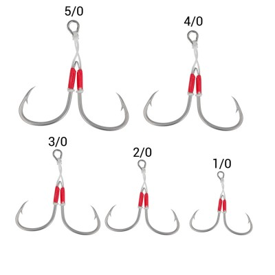 SEA MONSTERS SLOW JIGGING HOOK 1/0 2 pc