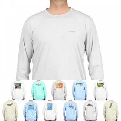 Camiseta Simms Solar tech tee