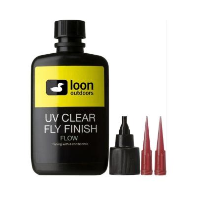 Resina UV clear Loon fly...